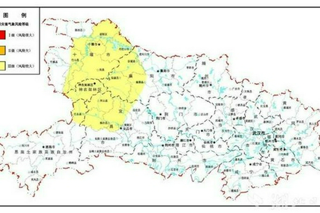 最新预警 鄂西北鄂西南地质灾害风险较大