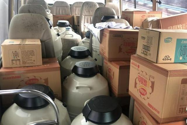 武汉大学人民医院捐赠14罐液氮驰援郑州