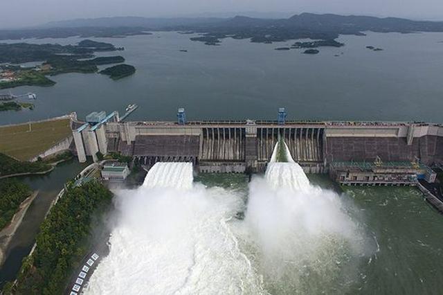 湖北丹江口水库进出流量刷新近十年记录