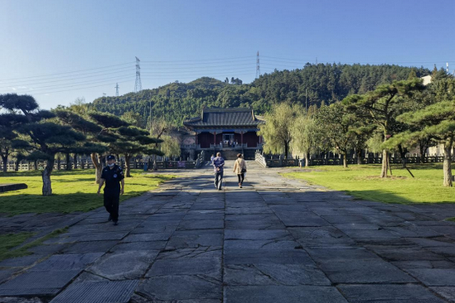 武当山玉虚宫玄帝殿十一恢复对外开放