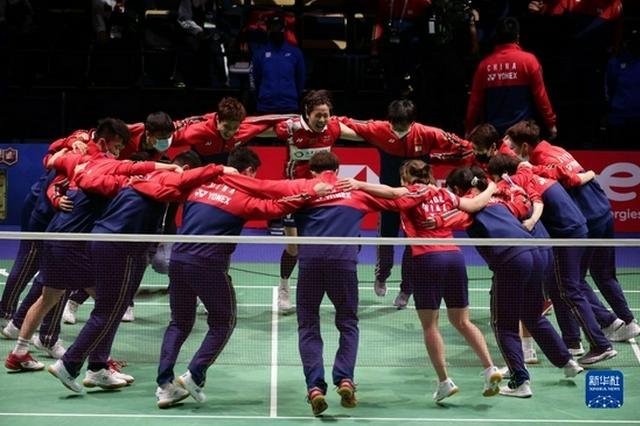 中国队3:1胜日本队 第12次夺苏迪曼杯