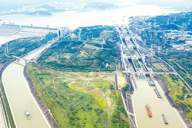 前三季度 三峡枢纽通过量破亿吨