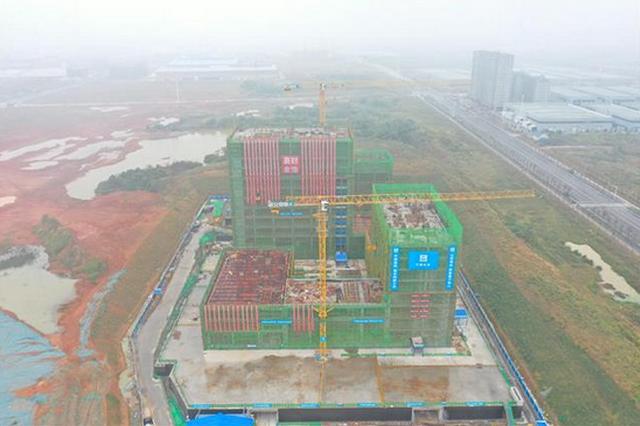 武汉首个市属P3实验室主体结构封顶