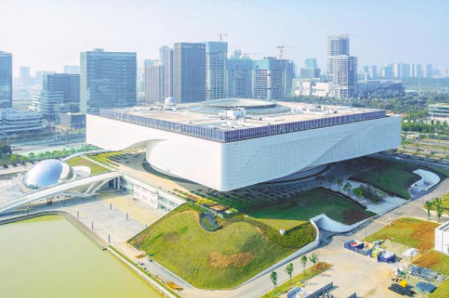 湖北省科技馆新馆工程主体完成