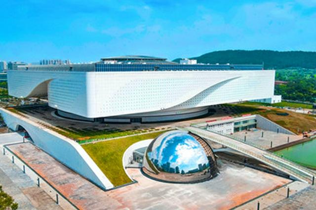 湖北省科技馆新馆主体工程完工 造型引人注目