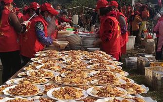 三峡九凤谷万人共享年猪盛宴