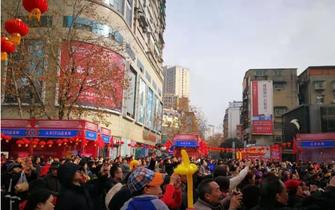 第十四届宜昌西陵庙会启幕