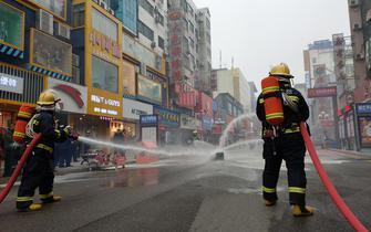 荆门市首条消防宣传示范街建成启用