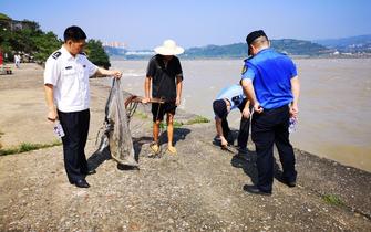 全面落实禁渔要求  宜昌中华鲟保护区在行动