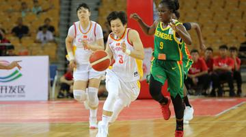 武汉站-中国女篮66-48大胜塞内加尔