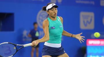武汉网球公开赛张帅不敌斯蒂文斯