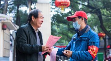 宜昌:坚守社区的老公安义务巡逻队