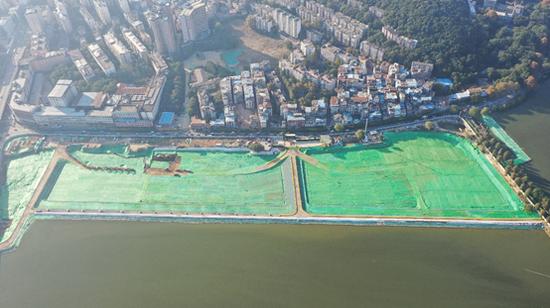 探访武汉市城投集团公司两湖隧道项目文明施工