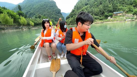 第八站:三峡竹海生态风景区