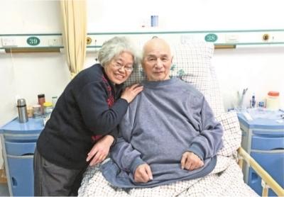 周爷爷和黄奶奶一起很开心 纪光伟 供图
