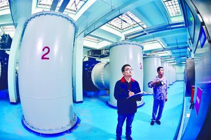 升级换代的黄浦路泵站