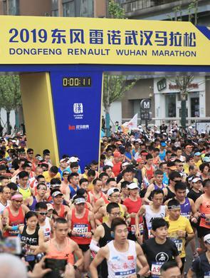 2019武汉马拉松男、女组冠军出炉