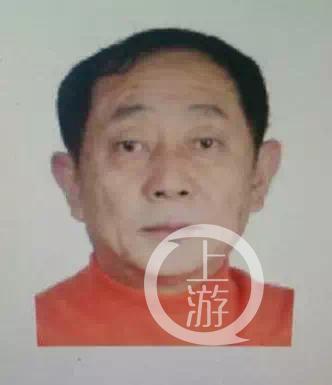 咸宁警方公布的犯罪嫌疑人张开放