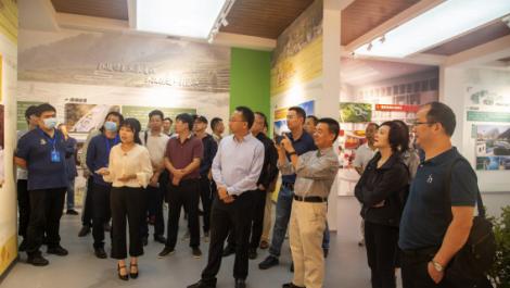 46位专家团队在深渡河乡村振兴推广中心调研