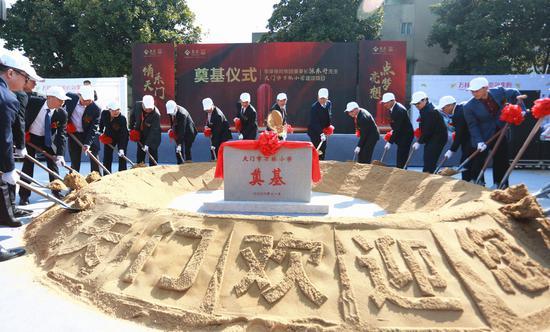 泰康保险集团和陈东升捐赠1亿元建设天门泰康大桥和万林小学