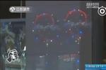 网红气球真的爆炸了!男子点支香烟4人被炸进医院