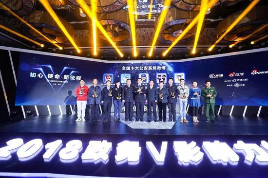 平安武汉荣获全国十大公安系统微博和2017年度十佳快速响应案例