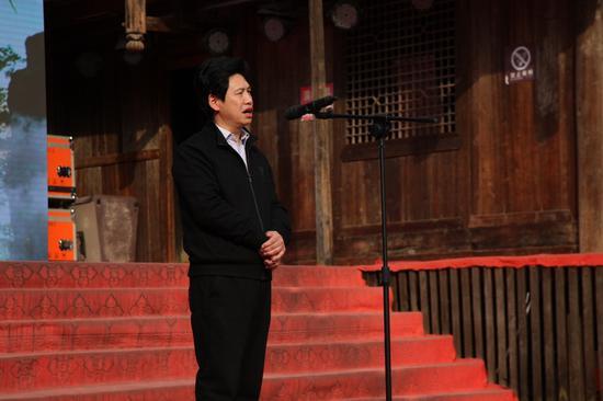 恩施州旅游委副主任胡福先讲话