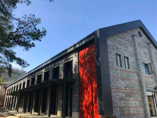 浙江大学玉泉校区第二食堂外观。 浙大供图