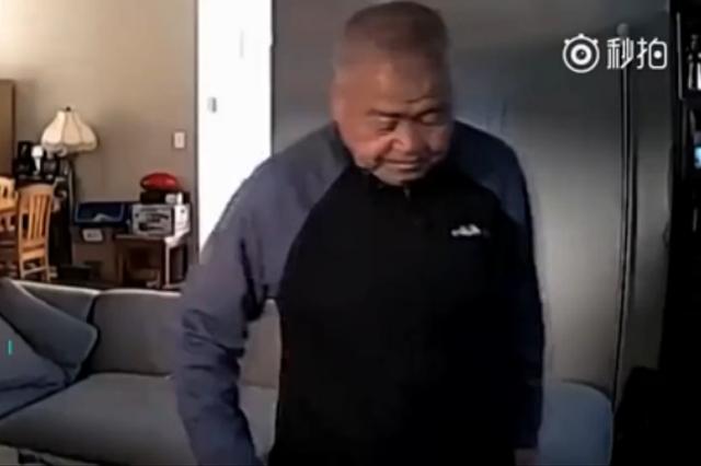 74岁中国老人在美国遭枪杀 生前最后影像公布