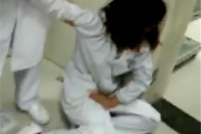 湖北一局长老婆脚踹怀孕护士 致其先兆性流产(图)