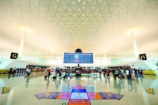 天河机场T3航站出入境破70万人次 稳居中部首位