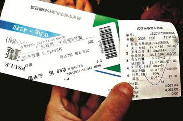 武汉药店买到的药竟贴着广东售药单 患者:不敢吃