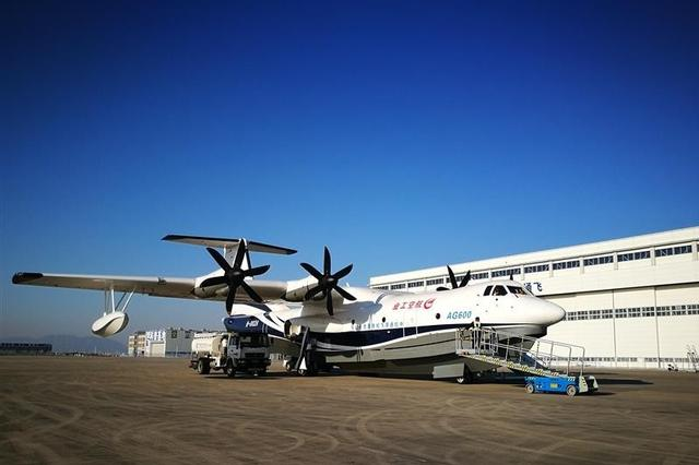 全球最大水陆两栖飞机首飞成功 由在鄂央企总体设计