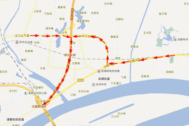 春节期间武汉市内高速出行预警 这些线路你要注意