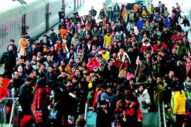铁路出行迎客流高峰 武汉位居全国十大到达城市之首