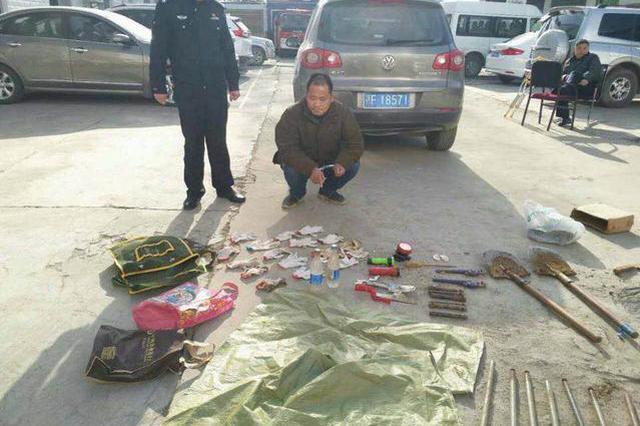 襄阳公安抓获盗墓团伙 人赃并获牢中过年