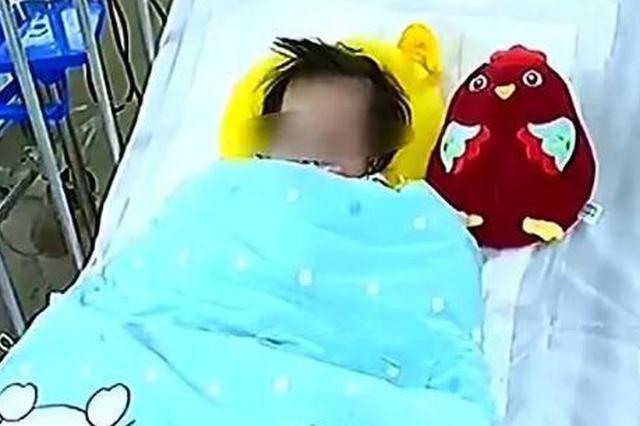 家长们注意!湖北一岁女婴异物卡喉 在医院过春节