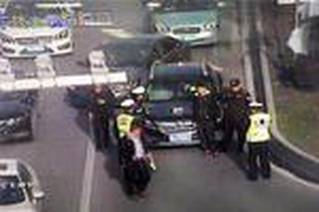 武汉2月查获涉牌违法282起 套牌车上路即被锁定