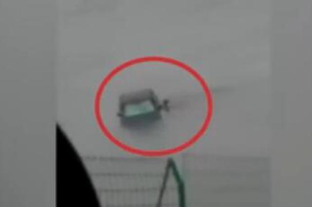 女子错把油门当刹车冲入汉江 三拨路人上演生死营救