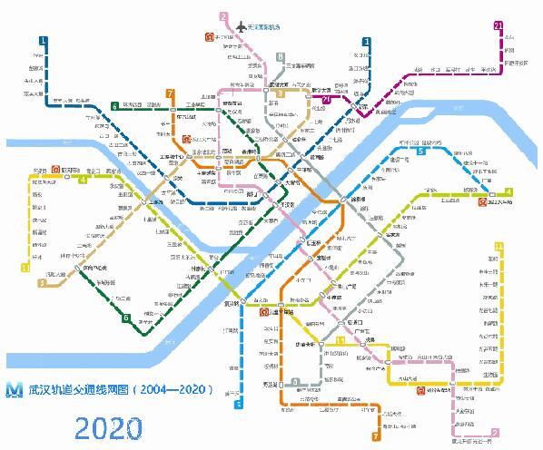 迎武汉军运会 2019年武汉将拥有15条地铁线路(图)
