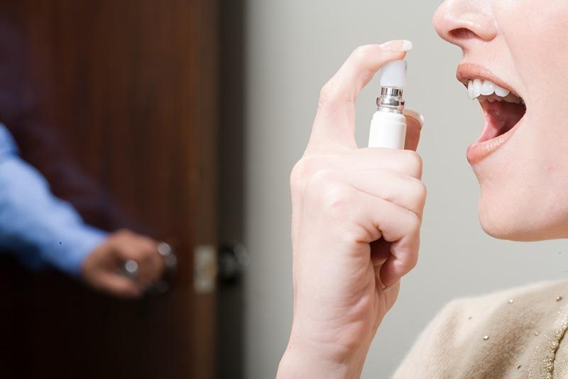 口臭有80%是口腔的问题