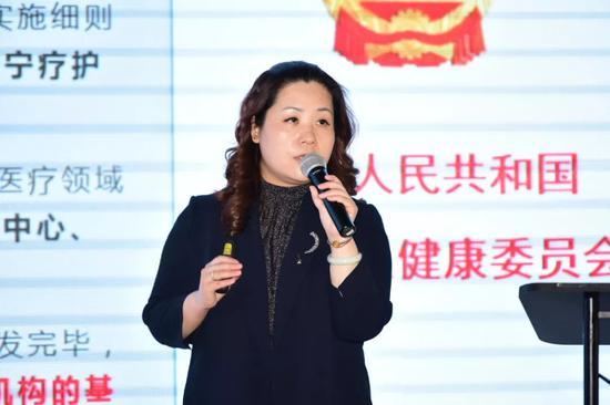 上海聚力康投资股份有限公司总经理徐晶