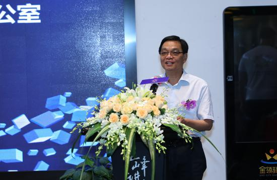 浦东新区原企业社会责任办公室常务副主任张炎明致辞