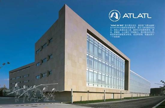 位于张衡路1077号Atlatl创新研发中心外景