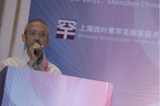 曾建平,香港罕见病联盟会长,中国香港