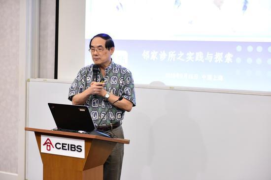 连锁邻家诊所创始人、美国佰健势医疗集团驻华总裁李健华 Joshua Li