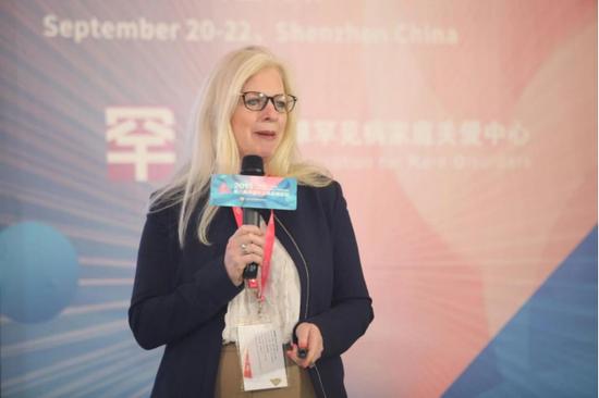 杨佩蓉,医学博士,CORD 国际事务部总监