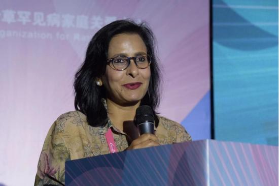 Ritu Jain,博士,亚太罕见病组织联盟(APARDO)主席,新加坡