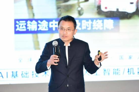 上海木木机器人技术有限公司董事长蒋化冰