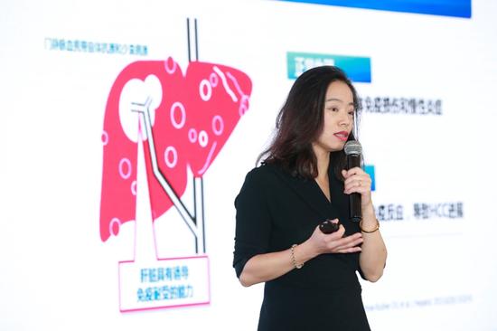 罗氏制药中国医学部副总裁李玮发言